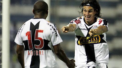 Fernández y Aguirre considerados entre los mejores de la Libertadores por la FIFA