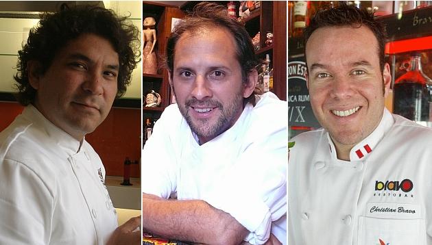 ¿Qué hacían estos tres chefs antes de dedicarse a la cocina?