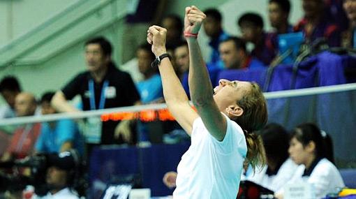 FOTOS: así celebró la selección de vóley su medalla de bronce en los JJ.OO. de Singapur