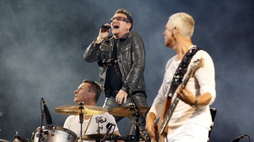 U2 pagó multa de 18 mil euros por exceso de ruido en Barcelona