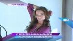 Ex Miss Perú acusada de tráfico ilícito de drogas reapareció públicamente en desfile de pasarela - Noticias de mariana larrabure