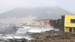 Alerta: fuerte oleaje obliga a cerrar 38 embarcaderos del Perú - Noticias de jose sama