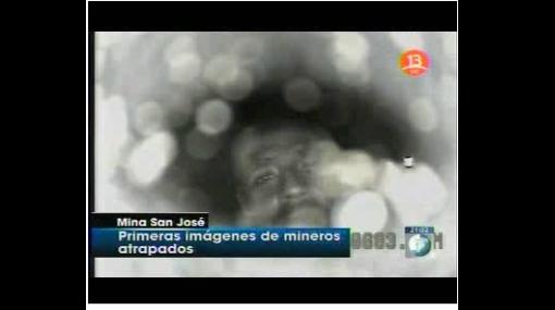 Esta fue la primera imagen que probó que los mineros atrapados se encontraban con vida en Chile