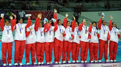 Cada una de las 'matadorcitas' recibirá 5 mil soles de premio por su medalla de bronce