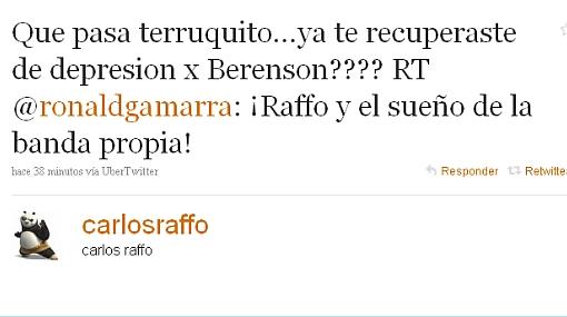 Fujimorista Raffo y ex procurador Gamarra intercambian palabras de grueso calibre vía Twitter