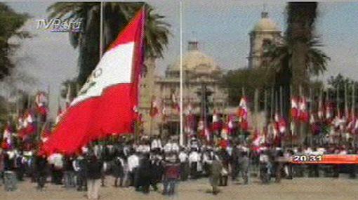 Los 81 años de la reincorporación de Tacna al Perú se celebraron con un desfile cívico