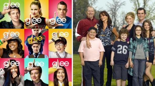 """""""Glee"""" y """"Modern Family"""" buscarán un Emmy por mejor comedia esta noche"""
