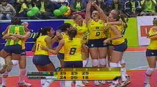 Brasil se coronó campeón del Sudamericano de Vóley de Menores