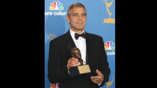 George Clooney recibió un Emmy honorario por su labor benéfica