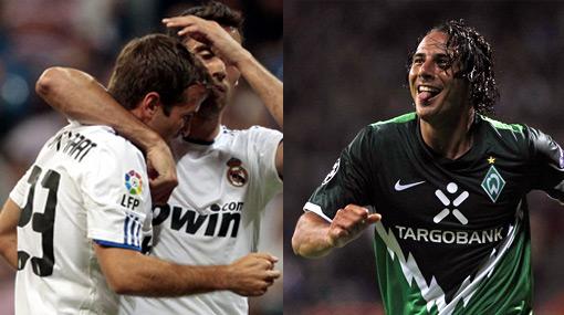 Claudio Pizarro enfrentará en la Champions a Rafael van der Vaart, el flamante fichaje del Tottenham