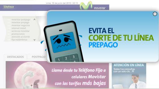 Registre su celular prepago para evitar el corte parcial