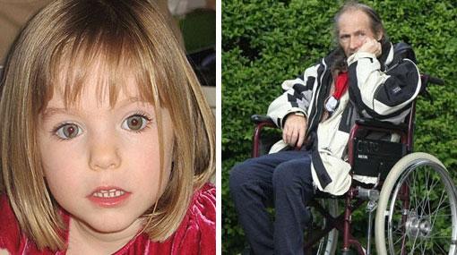 Pedófilo acusado de secuestrar a Madeleine McCann confesó que una mafia de gitanos se llevó a la niña