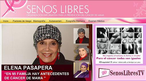 Elena Pasapera confesó que lucha contra el cáncer de mama