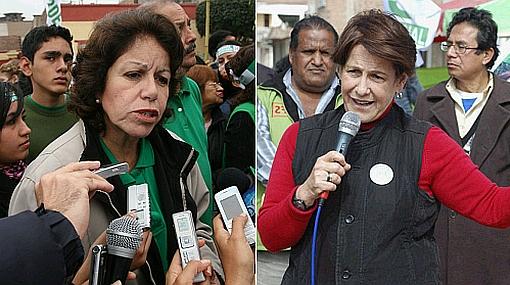 Virtual empate entre Susana Villarán y Lourdes Flores, según encuesta en línea de elcomercio.pe