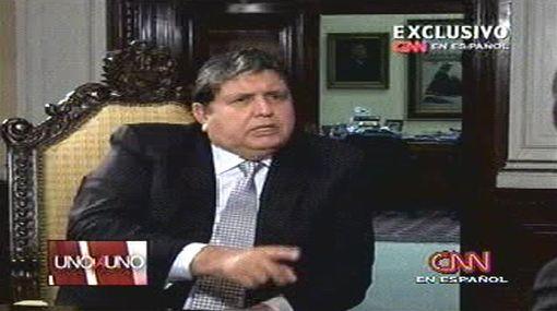 """Alan García admitiría ayuda de EE.UU. porque no tiene """"complejo persecutorio"""" como Hugo Chávez"""
