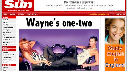 Wayne Rooney casi acaba con su matrimonio por una noche con estas dos prostitutas