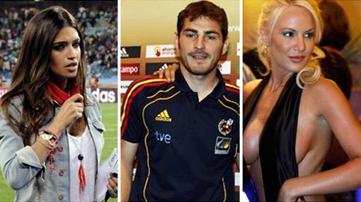 Casillas le fue infiel a Sara Carbonero con Luciana Salazar en juerga, según prensa argentina
