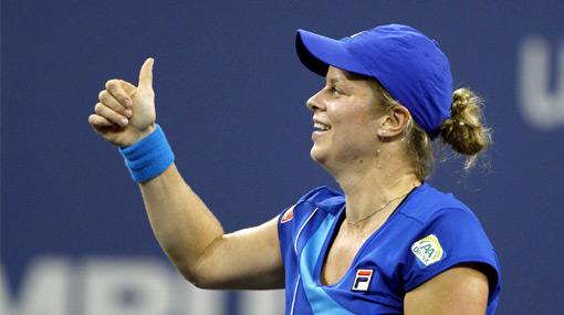Kim Clijsters se llevó su tercer US Open en tan solo una hora