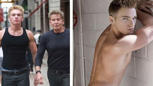 Calvin Klein se luce con su novio, un joven actor porno