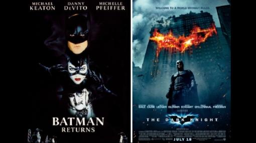 ¿Te gusta más el Batman de Tim Burton o el de Christopher Nolan?