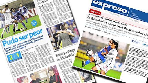 "Prensa ecuatoriana: ""Emelec perdió pero pudo ser peor"""
