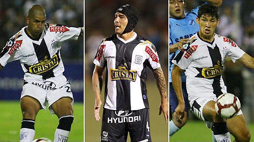 Fleitas, Ovelar y González se quedarán en Alianza Lima hasta el 2011