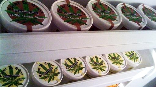 Solo con receta médica: venden helado de marihuana en Estados Unidos