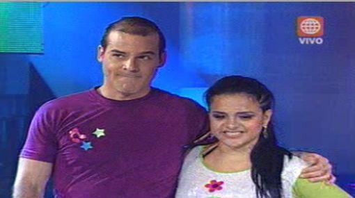 """Adolfo Aguilar fue eliminado y Angie Jibaja sigue en carrera en """"El gran show"""""""