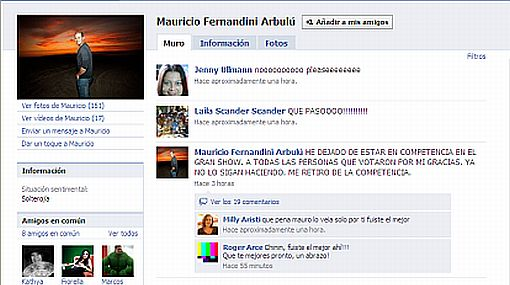 """Mauricio Fernandini anunció en su Facebook su retiro de """"El gran show"""""""