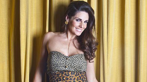 """Polémica en """"El gran show"""": Rebeca Escribens calificó de poco seria actitud de Mauricio Fernandini"""