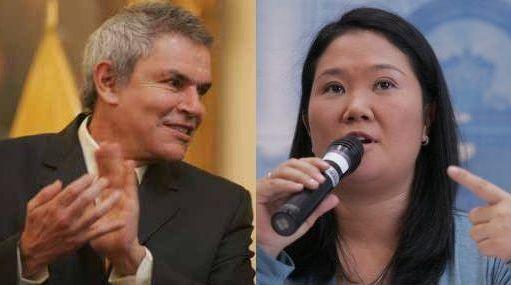 Keiko Fujimori ganaría la primera vuelta pero perdería en segunda frente a Luis Castañeda