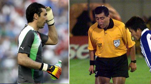 """Buffon sobre Byron Moreno: """"¿Seis kilos de heroína? El 2002 no los tenía en los bolsillos, sino en el cuerpo"""""""