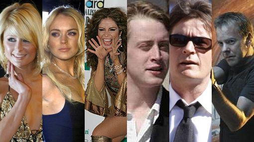 Famosos y en problemas: diez celebridades que pasaron por la cárcel por drogas, alcohol y violencia