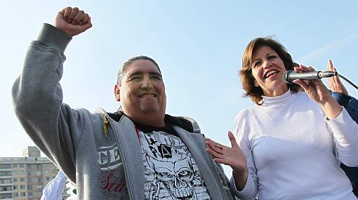 """Lourdes Flores: """"El gordo 'Tongo' es mi amigo, no le pagué ni un centavo"""""""