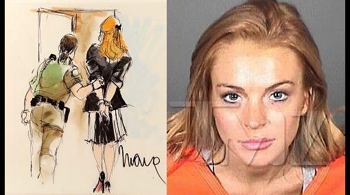 Lindsay Lohan regresa a la cárcel