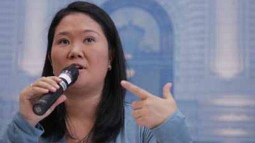 Keiko Fujimori afirmó que tiene grandes diferencias con Susana Villarán y no votará por ella