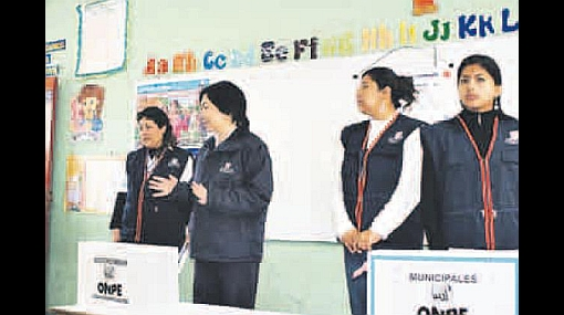 Simulacro electoral de ONPE se realizó con normalidad