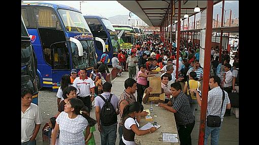 Precios de pasajes interprovinciales hasta se duplicaron a dos días de las elecciones