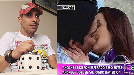 """Juan Francisco Escobar confesó que beso de Natalia Salas y Erick Elera en """"Al fondo hay sitio"""" despertó sus celos"""