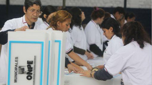 Casi 20 millones de peruanos acudirán a las urnas para elegir a 12 mil 484 autoridades