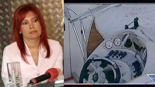 Vea cómo quedó el yate en el que se estrelló la hermana de Magaly Medina