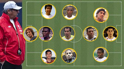 Este sería el once de Perú para enfrentar a Costa Rica ¿Qué te parece?
