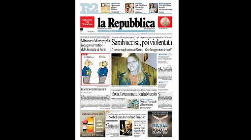 La noticia del Premio Nobel a Mario Vargas Llosa fue portada de muchos diarios alrededor del mundo