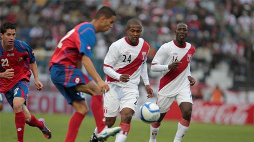 FOTOS: vea las mejores imágenes del Perú-Costa Rica