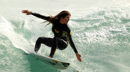 ¡Vamos 'Gringa'! Sofía Mulanovich quedó tercera en Portugal