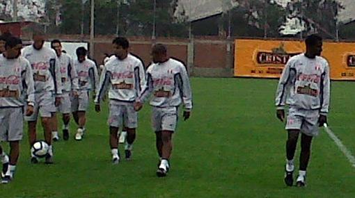 FOTOS: el último entrenamiento de la selección en Lima antes de viajar a Panamá