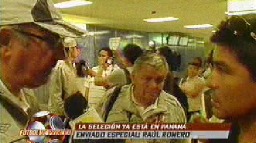 La selección peruana ya está en Panamá y fue recibida entre aplausos