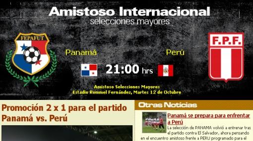 Entradas 2x1 ante Perú: la federación de Panamá sí quiere llenar el estadio