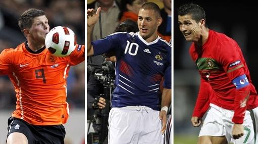 Portugal, Holanda y Francia avanzan con triunfos en las eliminatorias de la Eurocopa 2012