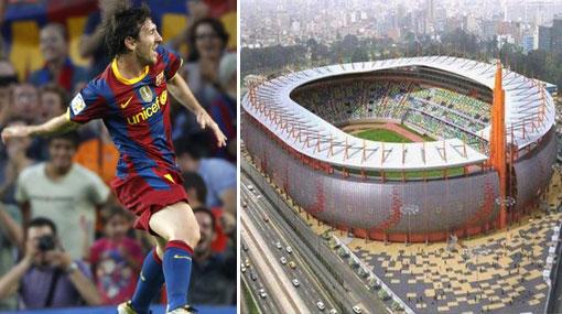 El Estadio Nacional ahora se estrenaría contra el Barcelona o el Real Madrid